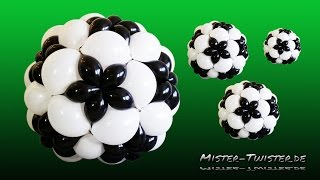 getlinkyoutube.com-Balloon Football, Soccer Decoration, Ballon Fußball,Fussball  Dekoration