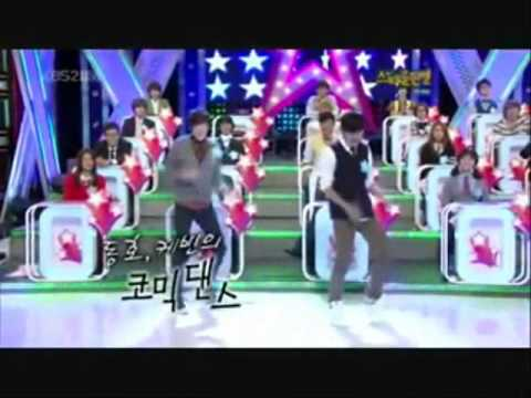 "Kevin & DongHo Dances to ""Breathe"""