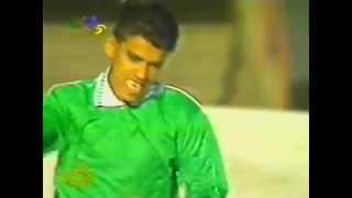 هدف اللاعب أحمد المصلي في مرمى إنتر ميلان عام 1997م