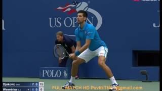 getlinkyoutube.com-Djokovic vs Wawrinka Us Open 2016 HIGHLIGHTS HD