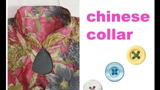 getlinkyoutube.com-HOW TO MAKE CHINESE COLLAR