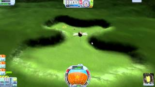 getlinkyoutube.com-Kerbal Space Program - Having More Fun With The Demo - Easter Eggs, Space Planes, Explosions