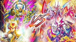 getlinkyoutube.com-Cardfight!! Vanguard G: Gold Paladin (Gurguit) Vs. Kagero (Overlord)