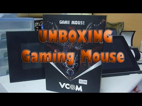 #4STRO Unboxing Souris Gaming VCOM