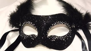 "getlinkyoutube.com-Masquerade Mask "" Night Sky"" DIY"
