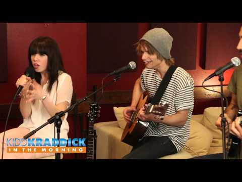 "Carly Rae Jepsen - ""Curiosity"" acoustic performance - Kidd Kraddick in the Morning"
