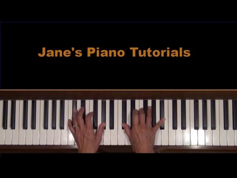 A Maiden's Prayer Piano Tutorial SLOW