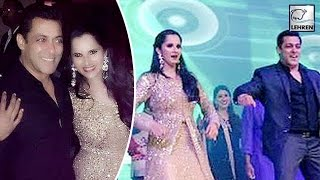 getlinkyoutube.com-Salman Khan Dances At Sania Mirza Sister's Sangeet | LehrenTV
