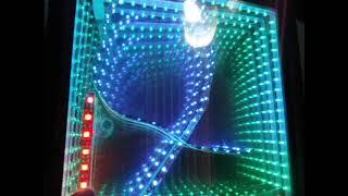 getlinkyoutube.com-Infinit Mirror Inside - Espejo LED 3D infinito por dentro - www.LEDFACIL.com.ar