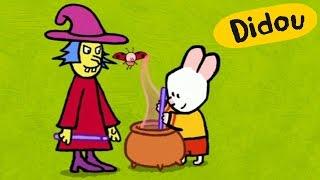 getlinkyoutube.com-Special Halloween - Didou, dessine Moi une Sorcière | Dessins animés pour les enfants