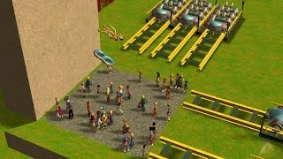 getlinkyoutube.com-Roller Coaster Tycoon 3 Death Park 1.7
