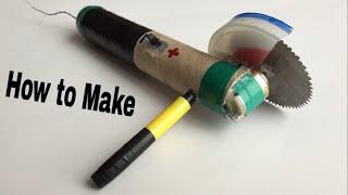 getlinkyoutube.com-How to Make a Dremel Tool (Angle Grinder) - Easy Way - Powerful - Tutorial