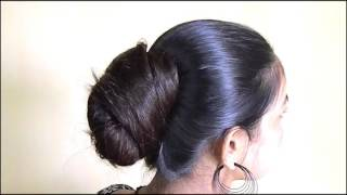 ILHW Evergreen Rapunzel Santu Huge Bun making with Almost Floor Length Hair...