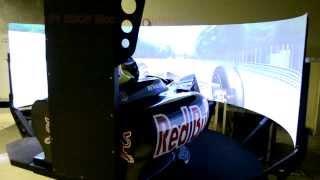 CKAS Formula 1 6DOF Motion Simulator V2
