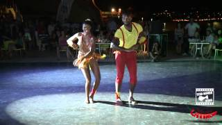getlinkyoutube.com-Tony Pirata & Aurélie - KIZOMBA show @ Tabarka Latino Days 2012