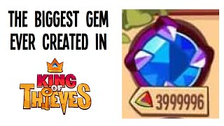 getlinkyoutube.com-The Biggest Gem Ever Created in King of Thieves!