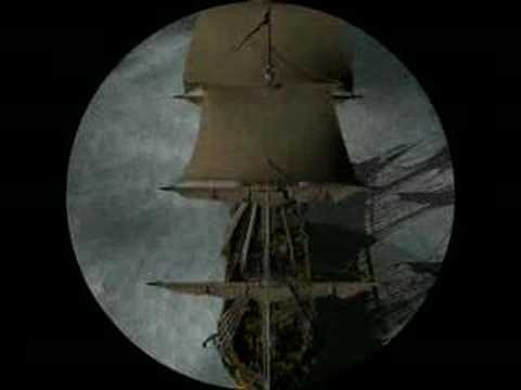 Pirate Ship on Stormy Sea, Opening Seq for Charlotte Badger