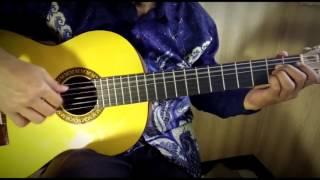 Halo Halo Bandung - Ismail Marzuki (Lagu Wajib Nasional) | Fingerstyle Cover by Ilham Andika