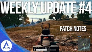 PUBG Xbox: Weekly Update #4 Patch Notes