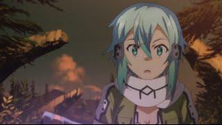 getlinkyoutube.com-Sword Art Online II - Kirito deflects bullets in GGO