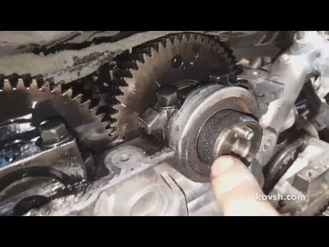 Почему при замене ремня ГРМ нужно менять сальники валов. Mitsubishi Pajero Sport 2.5d 4D56Di-D