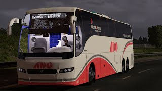 getlinkyoutube.com-Volvo 9700 Select | Skin Mx | Modbus | Euro truck simulator 2 | 1.10. -- 1.12