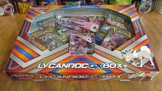 getlinkyoutube.com-Pokemon Lycanroc GX Box Opening