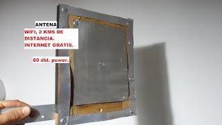 getlinkyoutube.com-antena wifi con latas de refresco 60 dbl ,internet gratis.MUY POTENTE