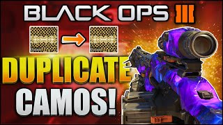 "getlinkyoutube.com-HOW TO COPY ANY CAMO GLITCH! Black Ops 3 ""DUPLICATE COPY CAMO GLITCH"" - (BO3 ""COPY CAMO GLITCH"")"