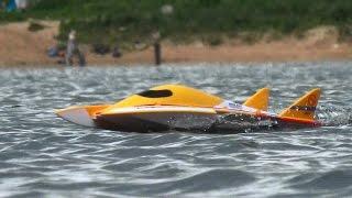 getlinkyoutube.com-Лодка на радиоуправлении Wltoys wl913, rc toy