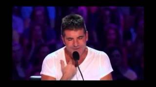 getlinkyoutube.com-Simon Cowell sings on X FACTOR 2013 !