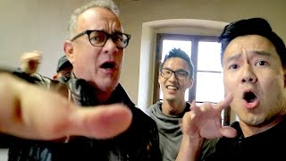 Rapping with Tom Hanks!