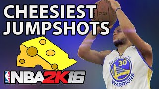 getlinkyoutube.com-CHEESIEST Jumpshots In NBA 2K16!!!