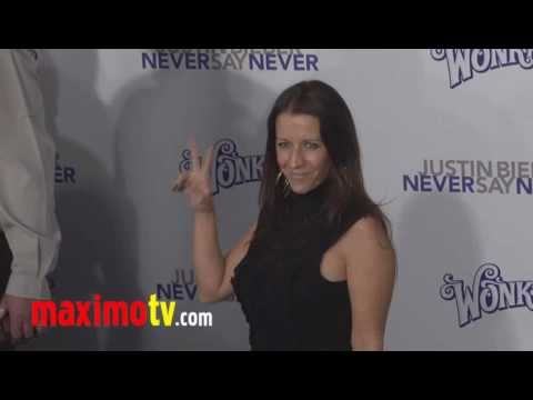 Pattie Mallette (Justin Bieber Mom) at &quot;Never Say Never&quot; Premiere