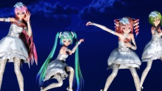 getlinkyoutube.com-【TDA Wedding Girls】Sweet Devil Colate Remix【60fps】