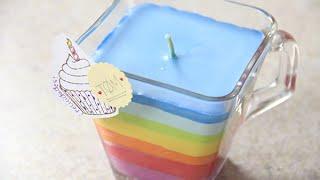 getlinkyoutube.com-Como hacer Velas arcoiris con crayolas | Craftingeek
