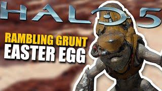 getlinkyoutube.com-Halo 5 Easter Egg - Rambling Grunt