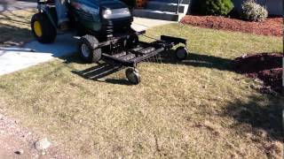 getlinkyoutube.com-how to take advantage of your lawn tractor -lawn tractor attachments