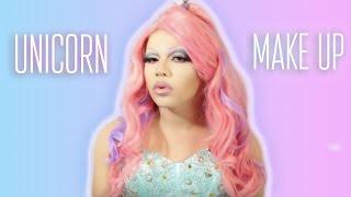 getlinkyoutube.com-Unicorn Inspired Make Up Tutorial   Transformation