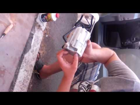 Замена топливного насоса у ЗАЗ Форза, Chery A13, Chery Bonus