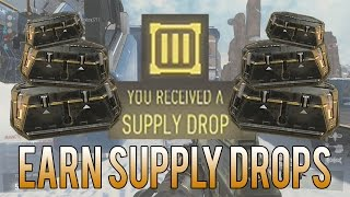 How To Earn SUPPLY DROPS (Tips & Tricks) [Advanced Warfare]