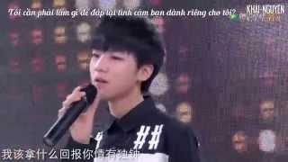 getlinkyoutube.com-[Vietsub Live] TFBOYS Vương Tuấn Khải (Wang JunKai - 王俊凯) - Vinh quang (光荣)