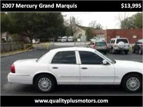 2007 Grand Marquis Motor 2007 Mercury Grand Marquis