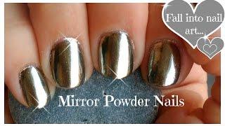 getlinkyoutube.com-♥ DIY,  Chrome Powder Mirror Nails on a Budget ♥