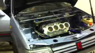 getlinkyoutube.com-Solera-pug1off 205 GTI 302HP