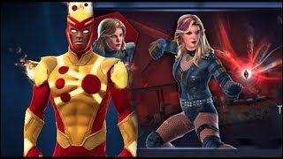getlinkyoutube.com-Black Canary, Firestorm Gone | DC Legends