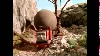 getlinkyoutube.com-Thomas The Tank Engine- Rusty and The Boulder (with runaway theme)