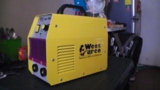getlinkyoutube.com-Soldador Inversor West Arco 160 Mini (West Arco welding inverter)