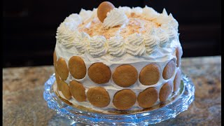 getlinkyoutube.com-Banana Pudding Cake