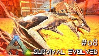 getlinkyoutube.com-ARK: SCORCHED EARTH - BABY WYVERN HATCHING !!! E08 (ARK SURVIVAL EVOLVED GAMEPLAY)
